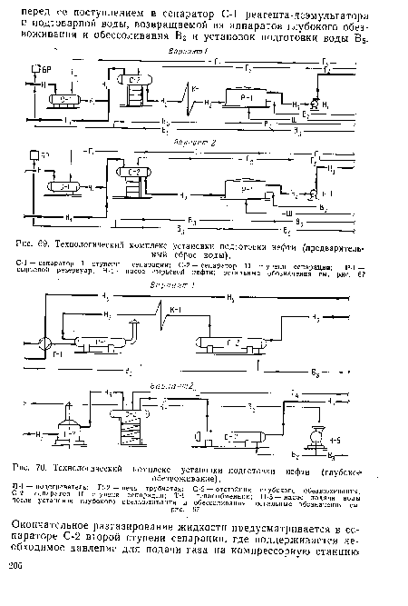 подготовки нефти (глубокое