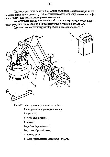 промышленного робота