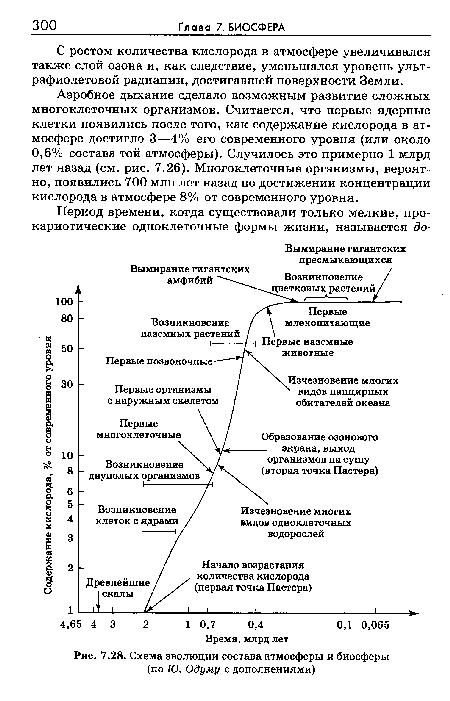 Схема эволюции состава