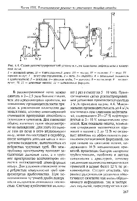 Схема реконструированной