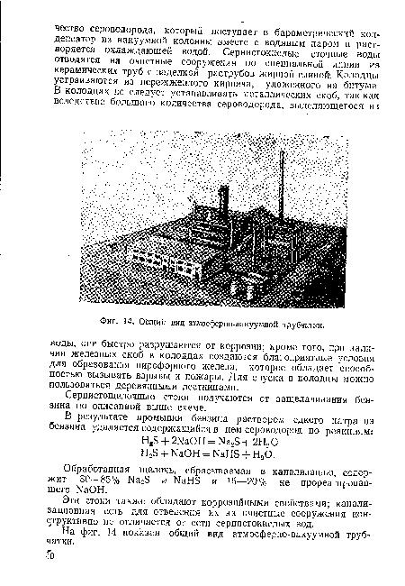 Общий вид атмосферно-вакуумной