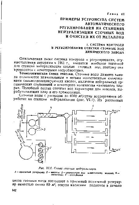 ...осуществленная авторами в 1961 г., является наиболее типичной для станций нейтрализации кислых сточных вод...