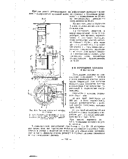 Колодец-гаситель типовой