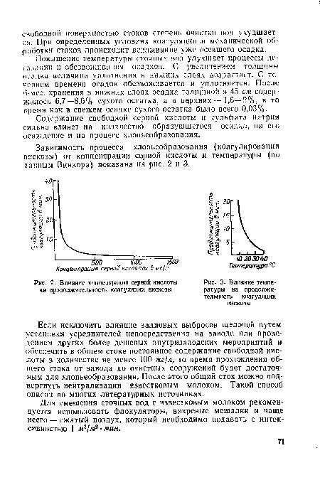 Кинетика формирования хлопьев при коагуляции