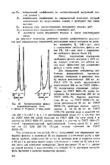 фенол-формальдегидных смол