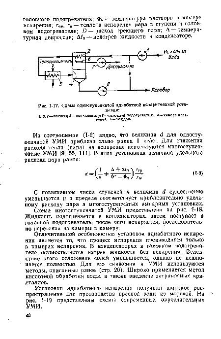 Схема одноступенчатой