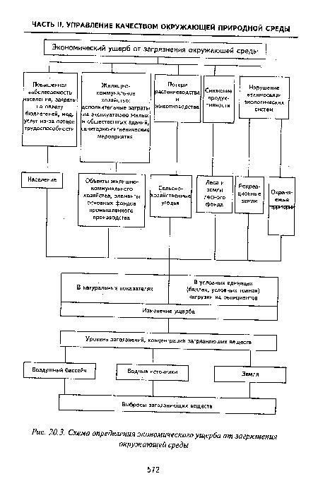 окружающей среды, Схема