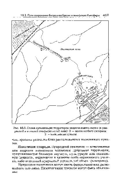 национального парка (в