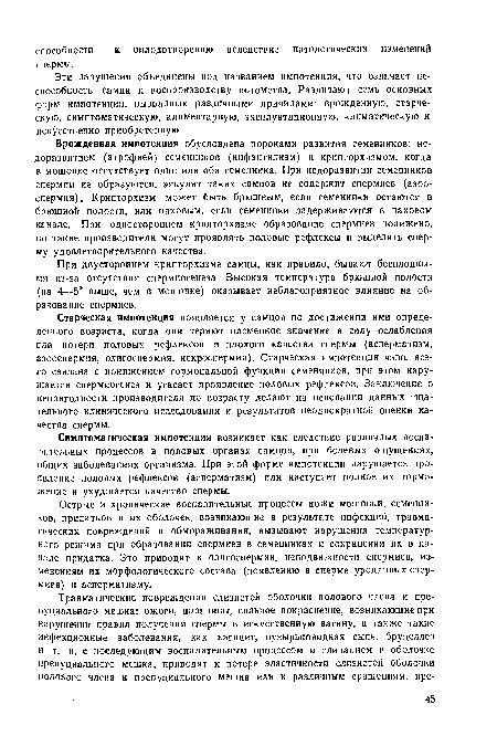 Импотент: симптомы полового бессилия у